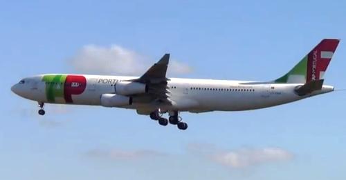 Airbus 340 de TAP