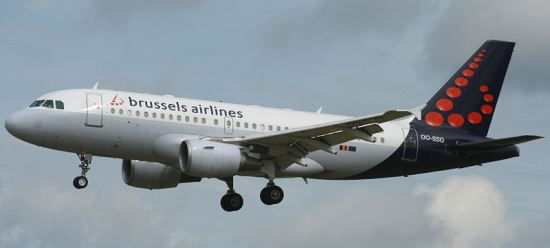 Airbus A320 de Brussels Airlines / Foto: Wikipedia