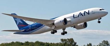 Boeing 787 de LAN Airlines