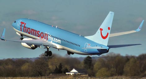 Boeing 737 de Thomson Airways