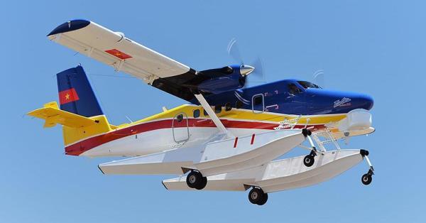 DHC-6 Twin Otter entrega recientemente a la Marina de Vietnam