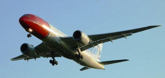 Boeing 787 de Norwegian / Foto: Wikipedia