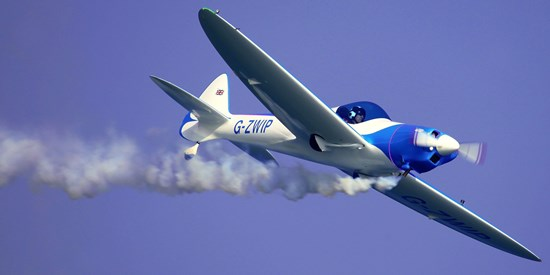 Avión Twister, el sábado 27 / Foto: Josep Ventura
