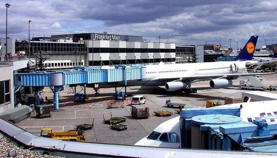 Terminal 1 del Aeropuerto de Frankfurt / Foto: Wikipedia