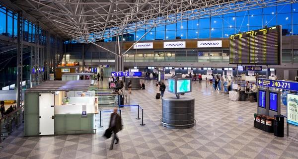 Terminal del Aeropuerto de Helsinki / Foto: