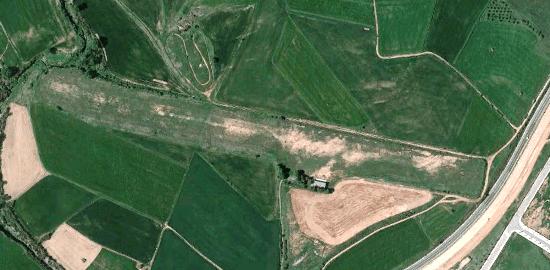 Tiene una longitud de 800 metros aproximadamente / Foto: Google Earth
