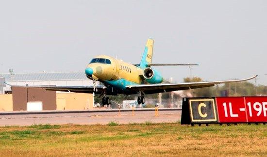Vuelo inaugural del cuarto Latitude / Foto: Cessna