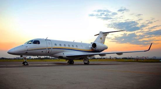 El Legacy 500 / Foto: Embraer