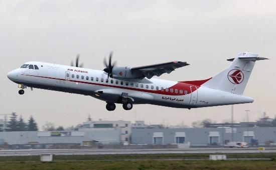 El ATR-72 de Air Algérie / Foto: ATR