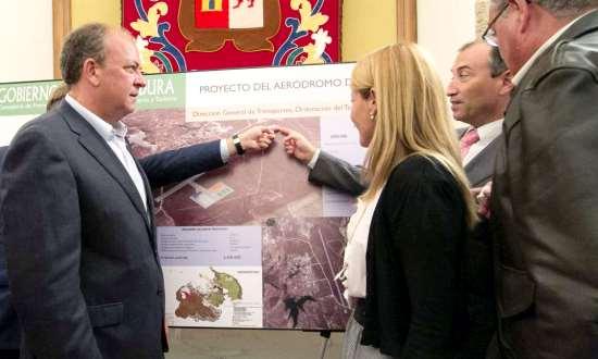 Imagen de la presentación del proyecto, el pasado mes de octubre / Junta de Extremadura