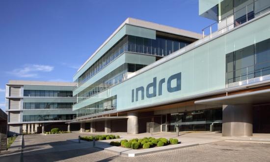 Oficinas centrales de Indra en Alcobendas (Madrid) / Foto: Indra