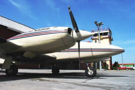 Aeropuerto de Cuatro Vientos / Foto: Aena