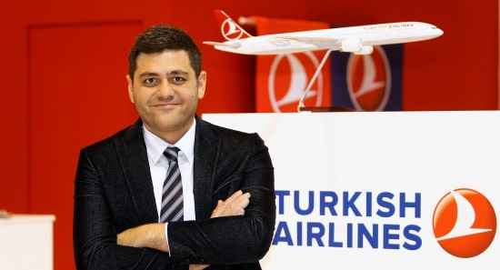 Orhan Güven, Director General de Turkish Airlines en Barcelona