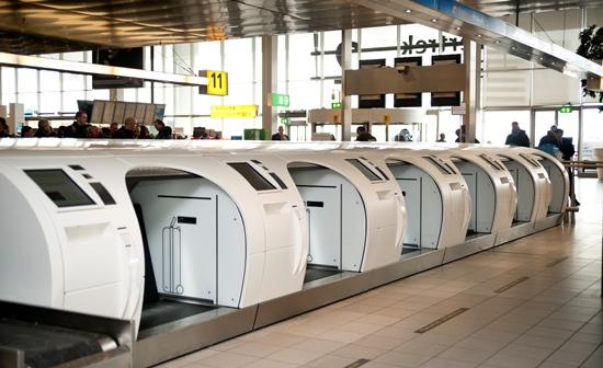 Imagen del sistema 'Self Bag en el aeropuerto de Schiphol