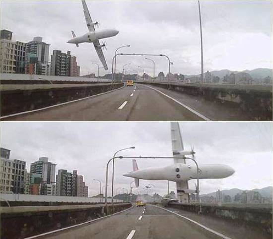 Secuencia del accidente