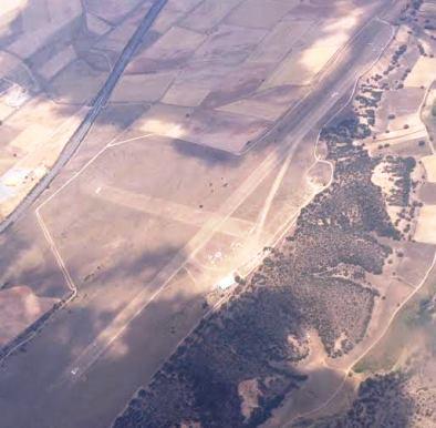 Aeródromo de Villacastín / Foto: www.vueloavela.org