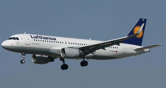 A320 de Lufthansa / JFG