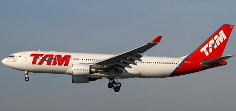 A330-200 de TAM Airlines