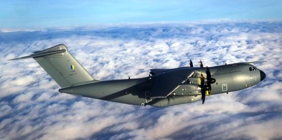 Imagen del primer vuelo que realizó el A400M de Malasia