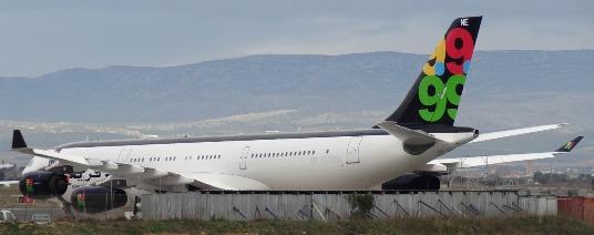 En la actualidad el avión luce una pintura distinta / JFG