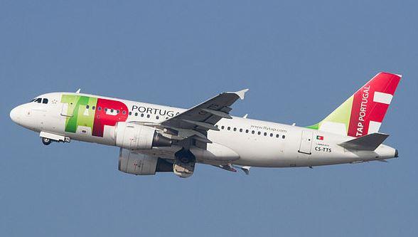 Airbus A319 de TAP Portugal / Wikipedia