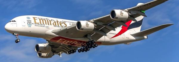 Airbus A380 de Emirates / Foto: Pere Escala