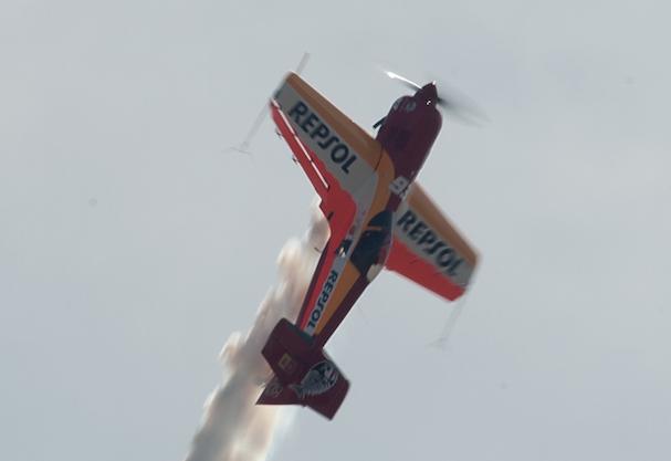 Avión acrobático de Cástor Fantoba
