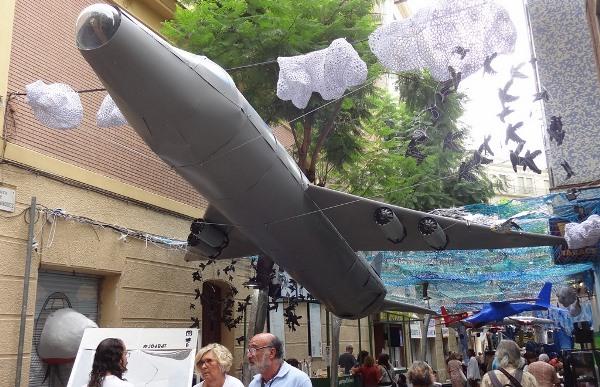 Unn avión despega del 'Aeroport de Gràcia' / JFG