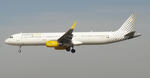 Este Airbus A321 (EC-MHB) es una de las últimas incorporaciones de Vueling / JFG