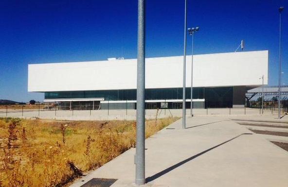 El Aeropuerto de Ciudad Real, fotografiado el pasado mes de agosto / Sergio Atalaya