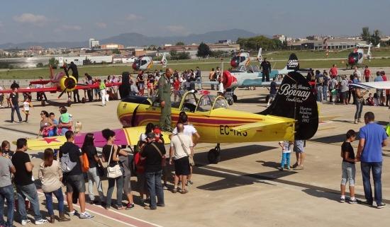 El Aeropuerto de Sabadell hará el sábado 19 jornada de puertas abiertas
