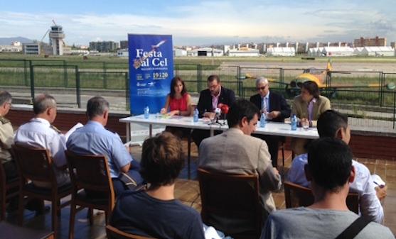 El evento se presentó en el Aeropuerto de Sabadell / Foto: Ayuntamiento de Mataró