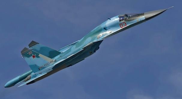 Sukhoi Su-34 / Foto: Aleksander Markin - Wikipedia