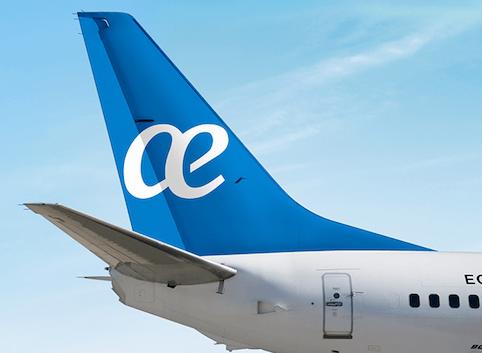 La nueva librea de Air Europa