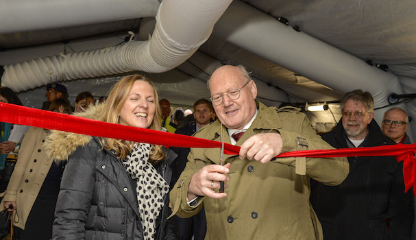 Inauguración del equipamiento / Grupo Airbus