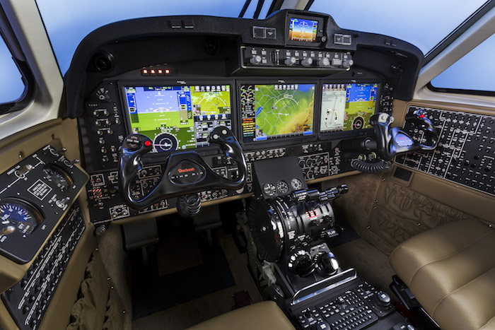 Aviónica Pro Line Fusion, en un King Air 350i / Textron Aviation