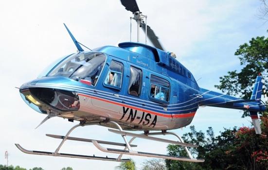 El helicóptero siniestrado / Helinica