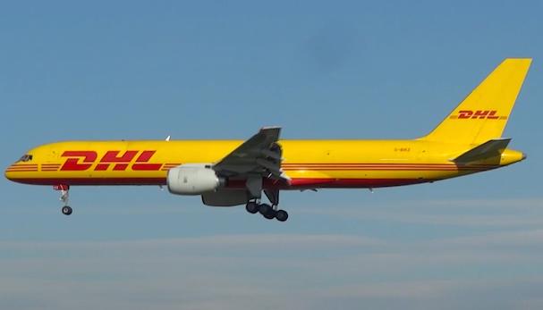 Boeing 757 de DHL / AeroBCN.com