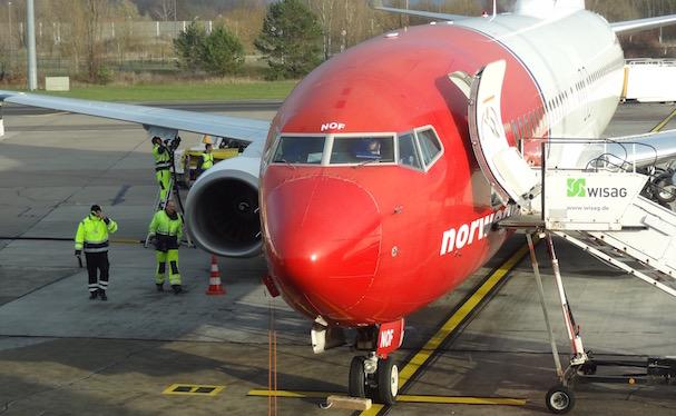 Boeing 737 de Norwegian, en Berlín-Schönefeld / AeroBCN