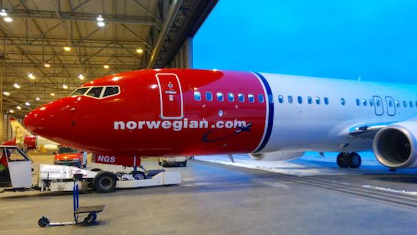 Boeing 737 de Norwegian