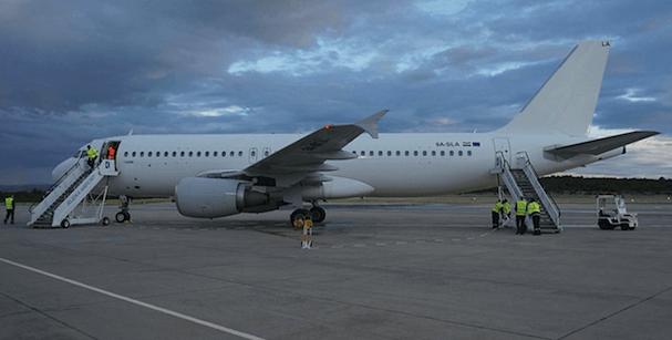 Airbus A320 de Scandjet