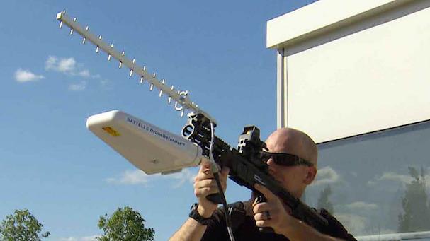 Aparato diseñado en EEUU para interceptar drones de pequeño tamaño / Battelle