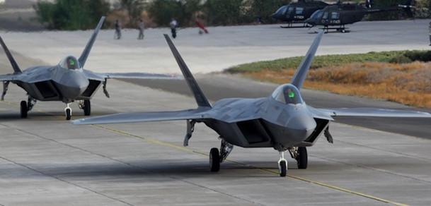 El F-22 'Raptor' es una de las atracciones de FIDAE 2016