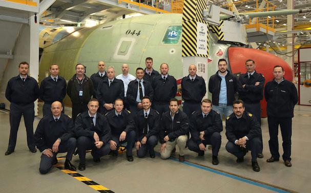 Los técnicos de mantenimiento / Ejército del Aire