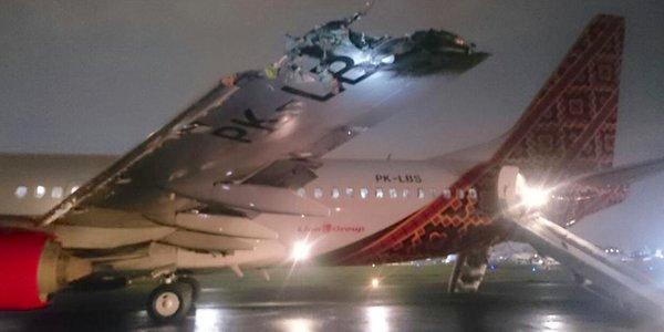 Foto del Boeing de Batik Air divulgada a través de Twitter