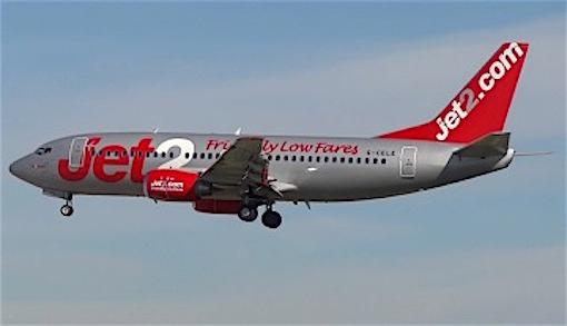 Boeing 737 de Jet2