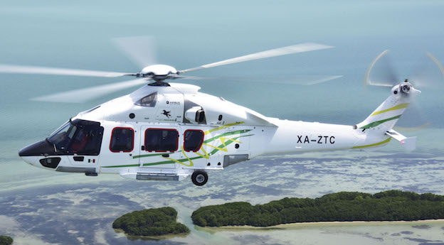 Airbus Helicopters H175 de Transportes Aéreos Pegaso