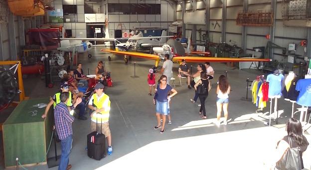 Hangar Taller de FPAC / AeroBCN.com