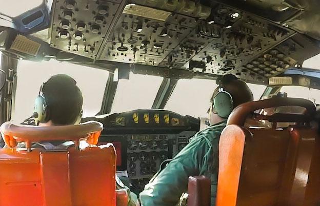 Tripulación de un P-3 durante una misión Active Endeavour / Ejército del Aire