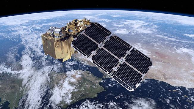 Satélite de investigación del medio ambiente Sentinel, impulsado por la ESA